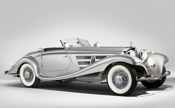 1937 Mercedes Roadster