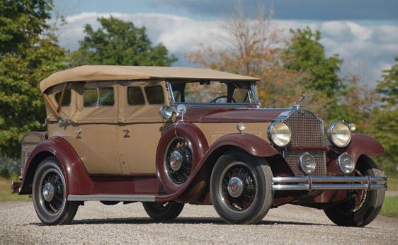 1931 Packard Model 833 Dual Cowl Phaeton