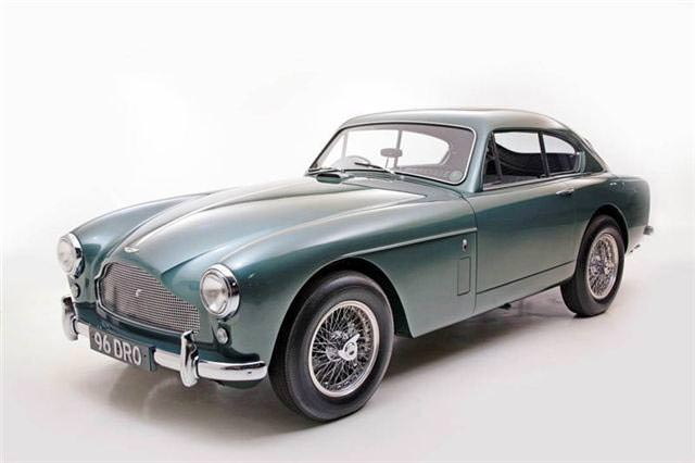 1958 Aston MArtin DB MKII Coupe