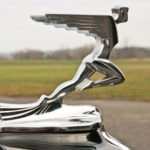 1932 Auburn V-12 Speedsteer Hood Ornament