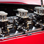 1960 Ferrari 250 GT LWB Alloy California Spider Competizione Engine