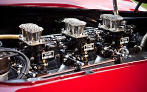 1960 Ferrari 250 GT LWB Alloy California Spider Competizione Engine