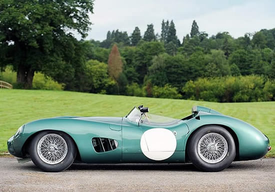Aston Martin DBR 12 Side Profile