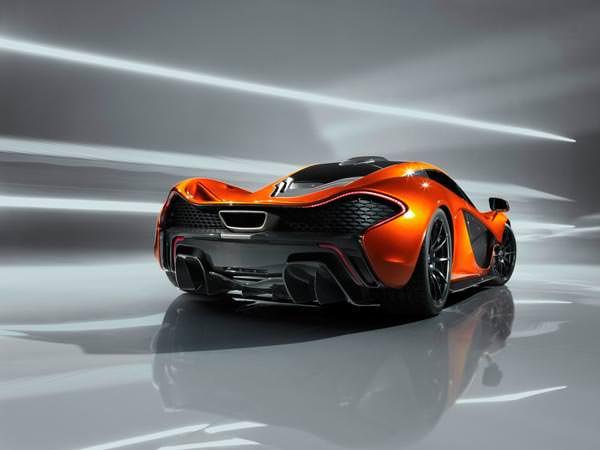 McLaren P1 Rear View