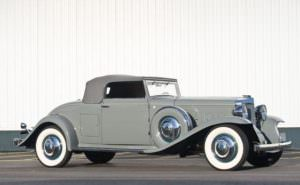 1931 Marmon Sixteen Convertible Coupe
