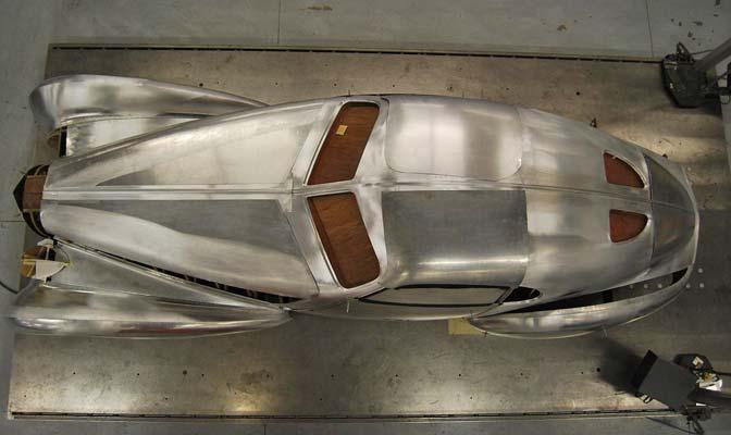Bugatti Type 64 Top View