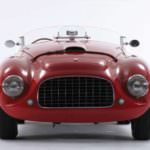 1950 Ferrari 166 MM Barchetta Front View