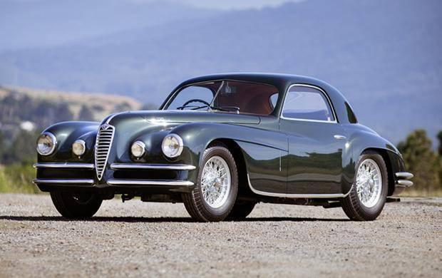 1950 Alfa Romeo 6C 2500 SS Coupe