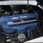 1953-Corvette-Roadster-Blue-Flame-Engine