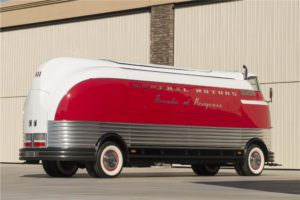 Rear View of the GM Futurliner