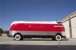 Side Profile of the GM Futurliner